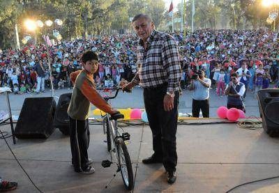El municipio de la Capital festejó el Día del Niño en el Parque Aguirre