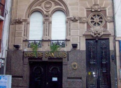 Polémica por el destino de la Casa de San Luis en Buenos Aires