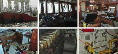 Hallan desmantelados dos barcos de la flota de Alpesca