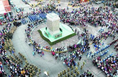 Se reinauguró el Monumento a San Martín