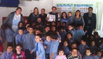 A 6 años de la hazaña, Curuchet encabezó jornada solidaria