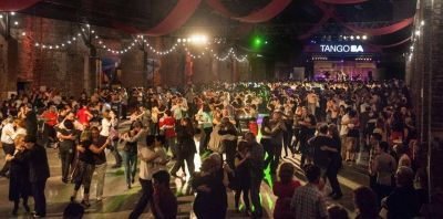 Contin�an las actividades del Festival y Mundial de Tango