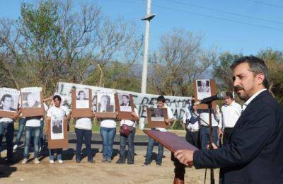Homenaje a las víctimas de la Masacre en Capilla del Rosario