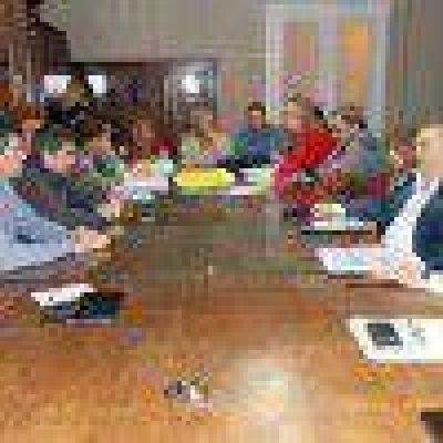 Vidal y secretarios se reunieron con concejales en agenda abierta