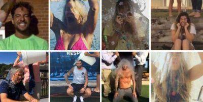 Los famosos que se tiraron el baldazo de agua fría y los que prometieron hacerlo