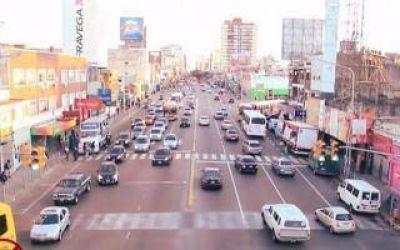 Masivo rechazo a la llegada del Metrobus en Vicente López