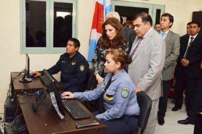 La Gobernadora puso en funcionamiento una ampliación del Sistema de Seguridad por Videovigilancia