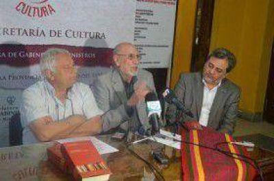 Presentación de Antología de poetas santiagueños