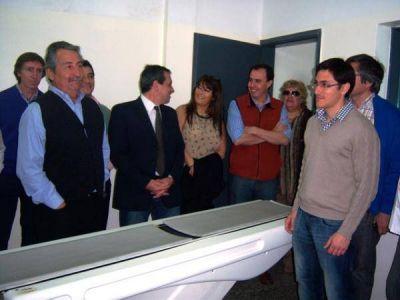 Fue inaugurado el nuevo tomógrafo del Hospital San Luís