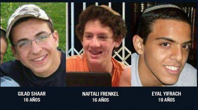 El grupo terrorista Hamas reconoci� haber asesinado a los tres adolescentes israel�es