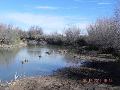 Atuel: ya se redujo el caudal en La Pampa y anuncian riego en Mendoza desde el martes