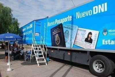 Operativo de trámites de DNI y pasaporte