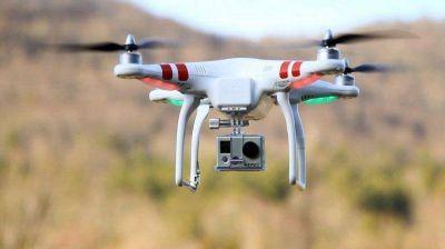 Un dron monitoreará el Riachuelo