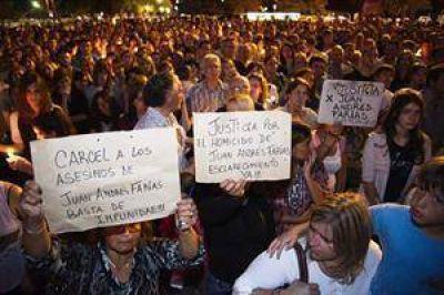 Una multitud se movilizó en Rosario en un reclamo de mayor seguridad