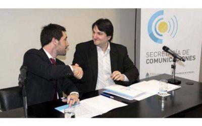 Firman acuerdo para facilitar la instalación de antenas de celulares en los municipios