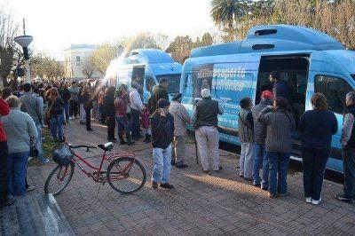 800 vecinos tramitaron el nuevo DNI en Coronel Vidal