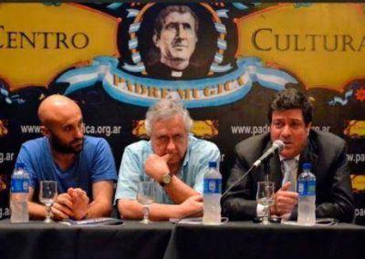 """""""Hay toda una experiencia histórica, profunda y peronista, que dio inicio al Festival de Cine del Conurbano"""", señaló Mariotto"""