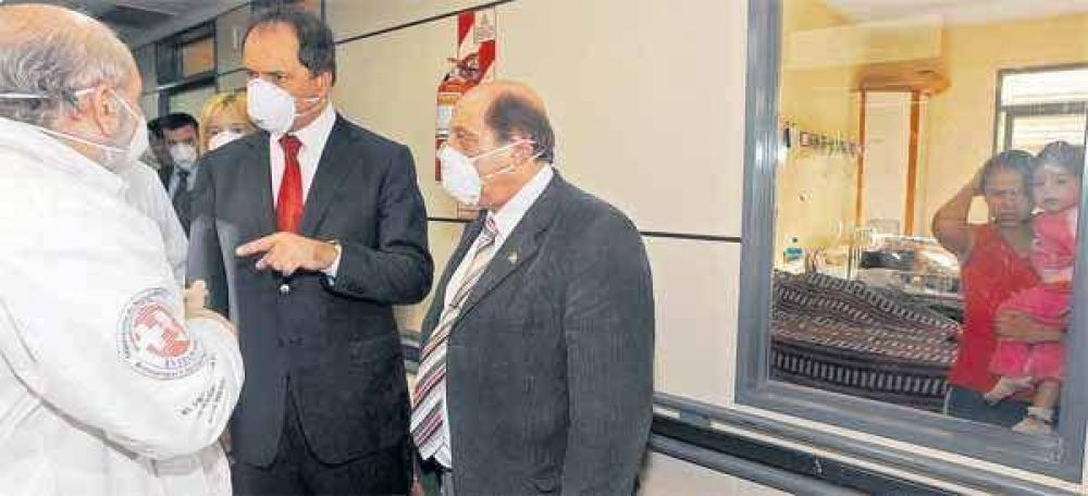 PJ: Reutemann rechaza a Scioli como jefe
