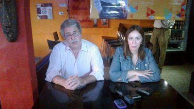 María Eugenia Vidal visitó Escobar