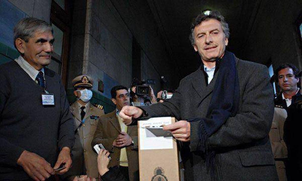 """Macri acusó de """"irresponsables"""" a los que votaron a Solanas"""
