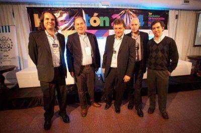 Pulti realizó la apertura del Hackatón en Mar del Plata
