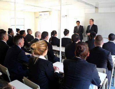 Esta semana, la Escuela de Policía Local inició las clases