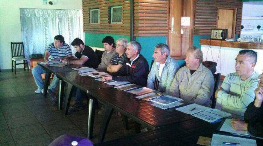 La UOCRA debatió sobre la seguridad en las obras en Carlos Paz