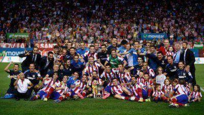 El Atlético venció al Real Madrid y se quedó con la Supercopa de España