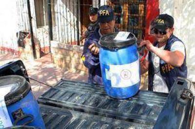 Secuestraron 100 kilos de cocaína, récord en Mendoza