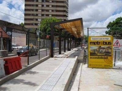 Pol�mica y debate por la llegada del Metrobus a Vicente L�pez