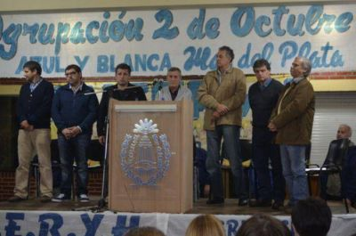 Víctor Santa María resaltó la figura de la Presidente de la Nación