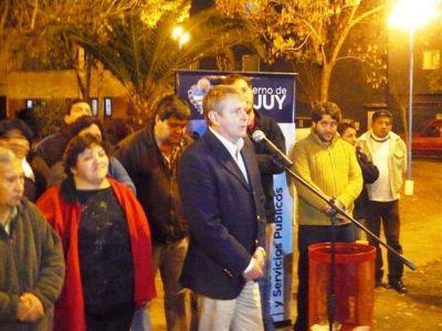 Habilitaron iluminación en el barrio San José