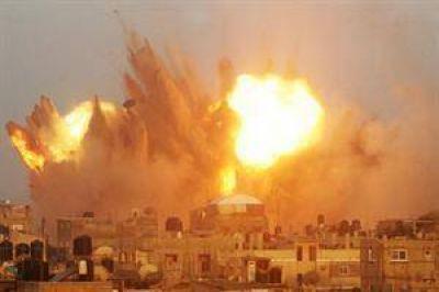 Nueva ronda de ataques de Israel con aviones y tanques en la Franja de Gaza