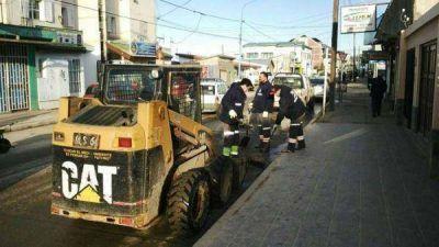 Realizan importantes trabajos de Saneamiento Ambiental en Ushuaia