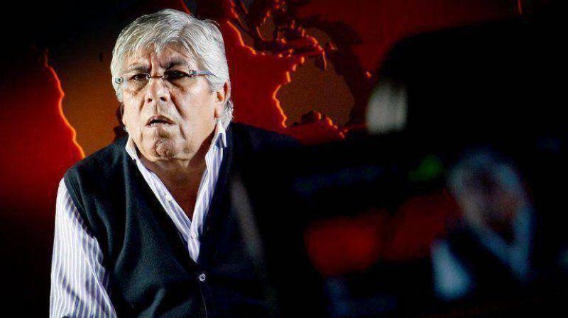 Moyano acus� al Gobierno de presionar a la UTA para que no adhiera al paro del jueves