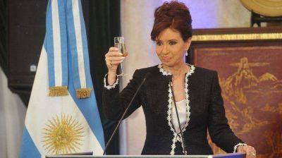 Cristina Kirchner sostuvo que