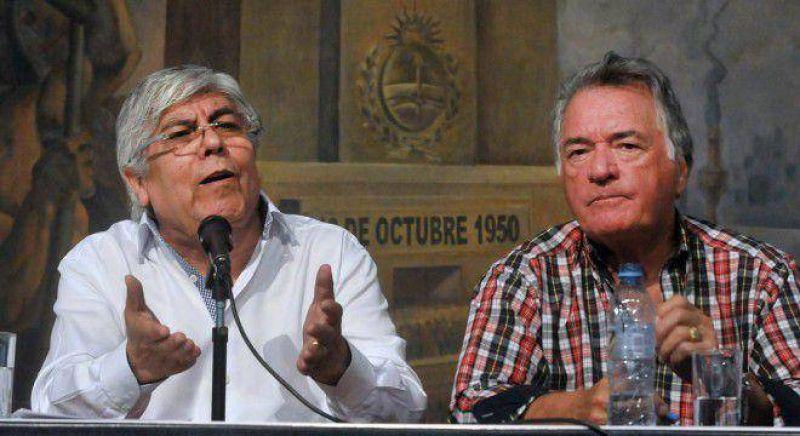 Moyano y Barrionuevo suman al paro del jueves a gremios de aeron�uticos, alimentaci�n y docentes