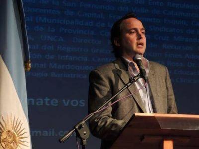 """El vicegobernador presentó la Primera Etapa: Diagnóstico, de los Foros """"Catamarca del Futuro"""""""