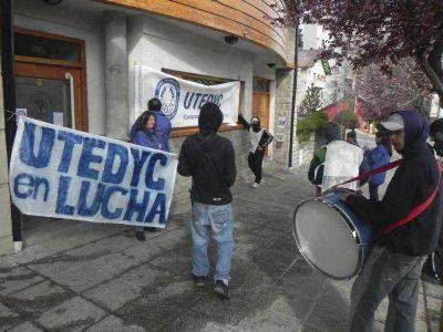 Trabajadores de clubes y entidades civiles de Bariloche se suman al paro del jueves