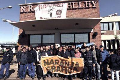 Trabajadores de Donnelley cortan Callao y Marcelo T. de Alvear para exigir que se levante la quiebra