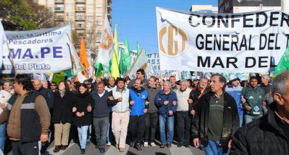 Paro del jueves en Mar del Plata: los gremios que adhieren y los que no