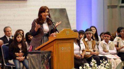 Cristina Kirchner propone discutir el traslado de la Capital de Argentina