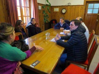 Municipio y Naci�n avanzan en la construcci�n de la bicisenda