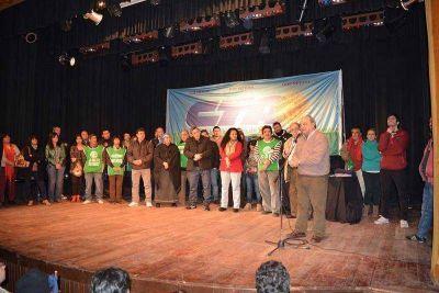 En un teatro colmado de militancia asumió la CTA de Río Negro