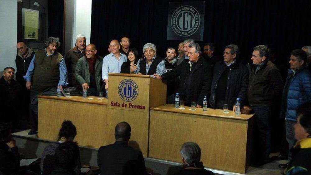 Moyano responsabilizó al Gobierno por posibles actos de violencia durante el paro