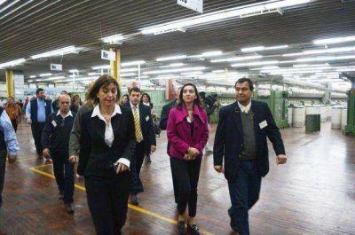 Recorrieron la Planta Industrial Coteminas e Inauguraron sala de Capacitación