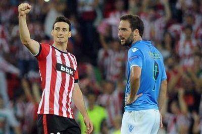 Pipita Higuaín, sin Champions: Napoli perdió ante Athletic y quedó fuera de los grupos