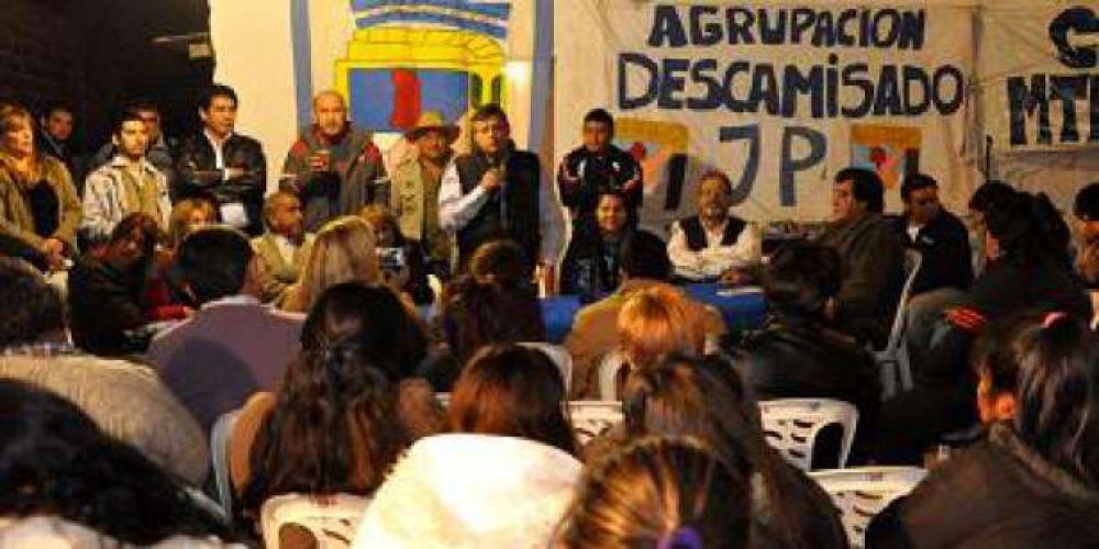 Peppo quiere integrar a Resistencia al proyecto Nacional y Popular