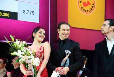 Pareja de Malvinas logró el sub campeonato