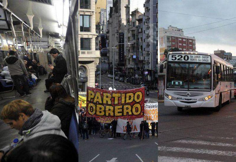 Los dos paros: la grieta entre el relato oficial y la gesta del sindicalismo opositor